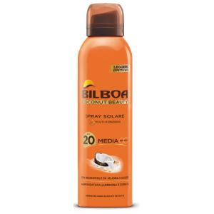 Image of Bilboa Coconut Beauty Spray Solare SPF 20 150 ml 8002410021455