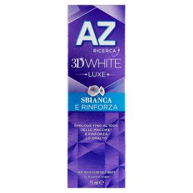 Image of Az Dentifricio 3D White Luxe Sbianca e Rinforza 75 ml 4015600755874