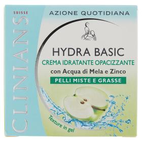 Image of Clinians Hydra Basic Crema idratante opacizzante pelli miste e grasse 50 ml 8003510024636