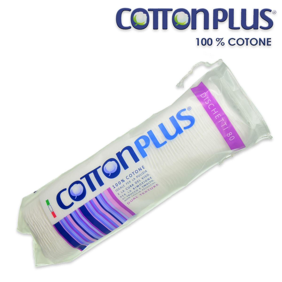Image of Cotton Plus Dischetti Tondi 80 pz 8023546020006