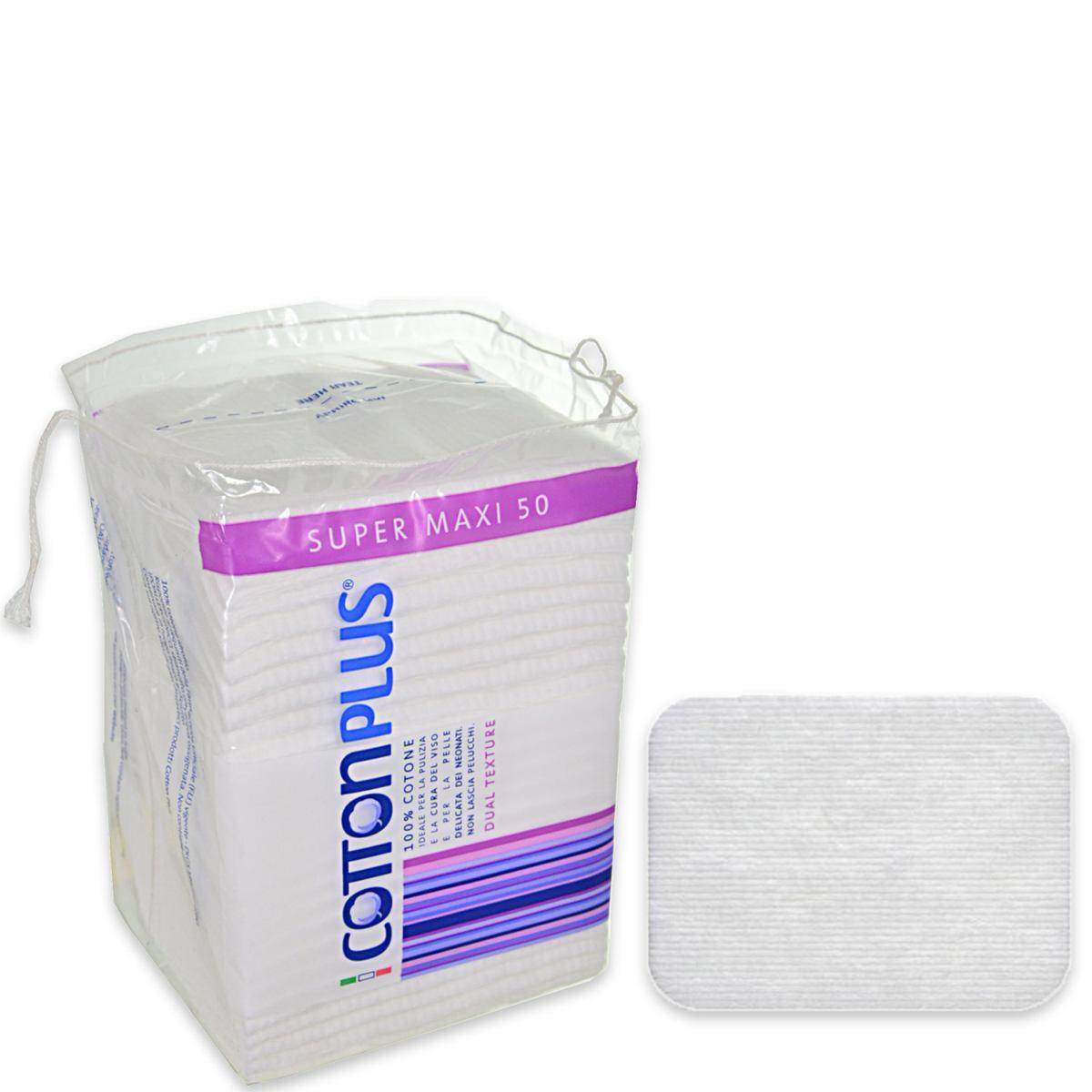 Image of Cotton Plus Dischetti Levatrucco Super Maxi 50 pz 8023546256320