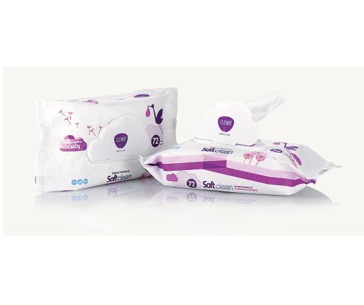 Image of Clendy Salviettine Imbevute Soft Clean Baby 72 pz 8033532105372