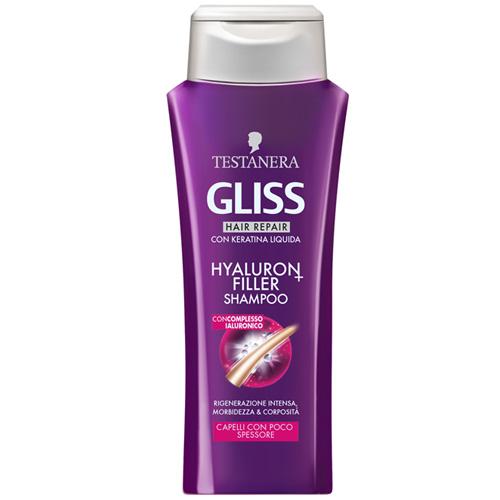 Image of Testanera Gliss Hyaluron Hair Filler - Shampoo 250 ml 8015700156560