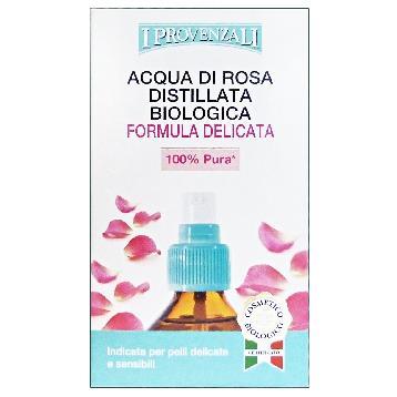 Image of I Provenzali Acqua di Rosa Distillata Biologica 100 ml 8025796005062