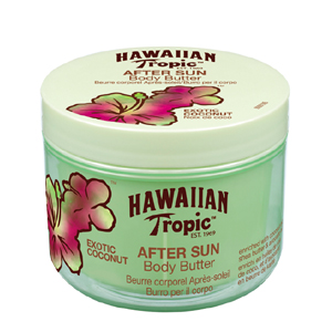 Image of Hawaiian Tropic After Sun Body Butter Coconut - Doposole 200 ml 5099821001261