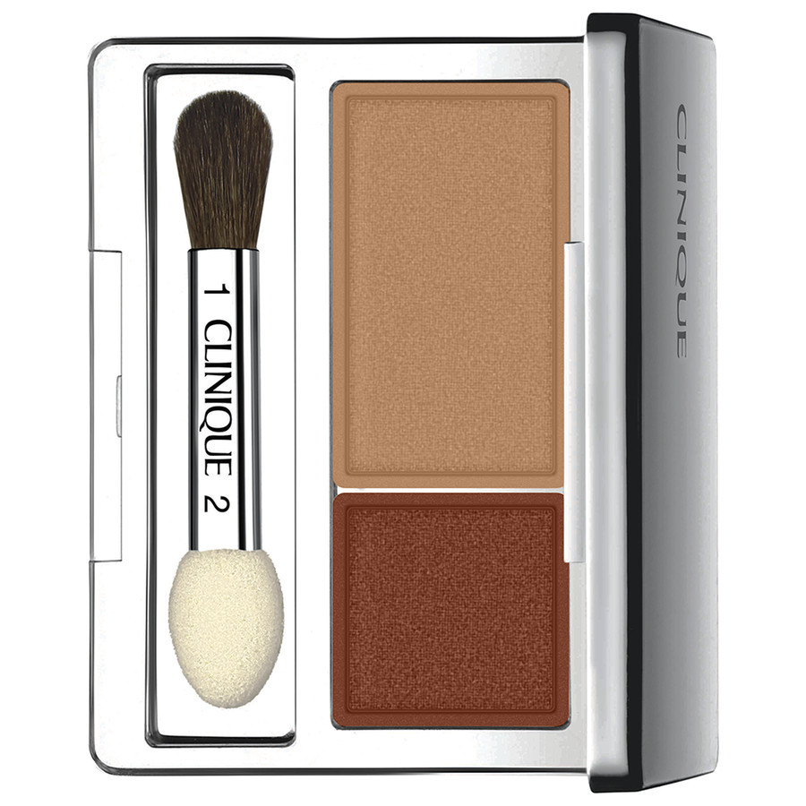 Image of Clinique All About Shadow Duo - Ombretto 01 Like Mink 0020714586904
