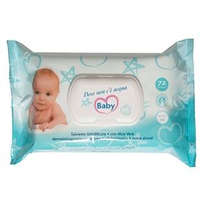 Image of Dove non c'é Acqua Baby - Salviettine 75 pz 8000913045763