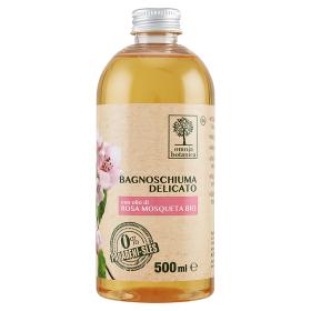 Image of Omnia Botanica Bagnoschiuma Delicato con olio di Rosa Mosqueta Bio 500 ml 8051070259326