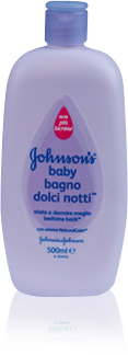 Image of Johnson's Baby Bagnoschiuma Per Bambini Dolci Notti Baby 500 Ml 3574660124613