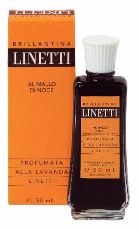 Image of Linetti Brillantina Lozione Lucidante Per I Capelli Al Mallo Di Noce Profumata Alla Lavanda 50 Ml 8009150038613