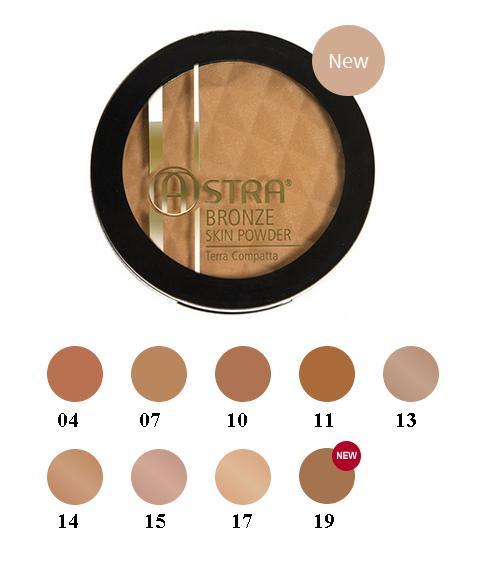 Image of Astra Bronze Skin Powder - Terra Abbronzante Compatta 04 Ruggine 8051070226540