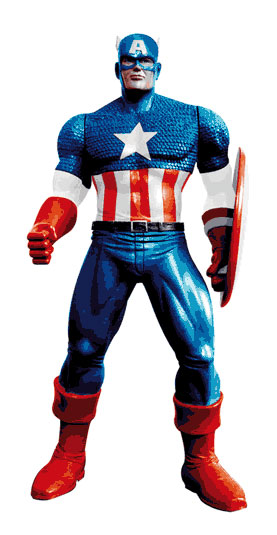 Image of Disney Captain America 3D - Gel Doccia 200 ml 8032738604726