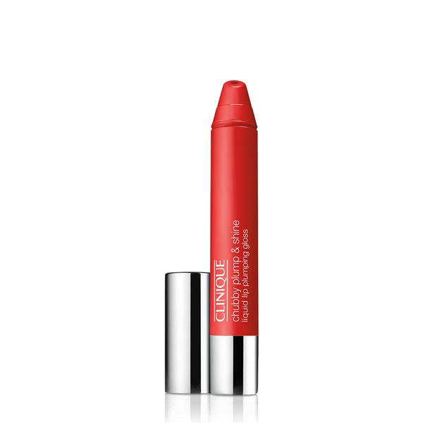 Image of Clinique Chubby Plump & Shine - Gloss 02 Super Scarlet 0020714840228