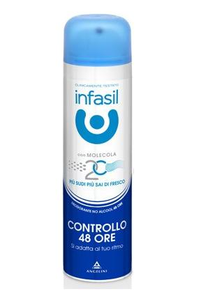 Image of Infasil Controllo 24 Ore - Deodorante Spray 150 ml 8000036014196