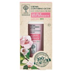 Image of Omnia Botanica Crema Contorno Occhi con olio di Rosa Mosqueta purissimo Bio 15 ml 8034013934672
