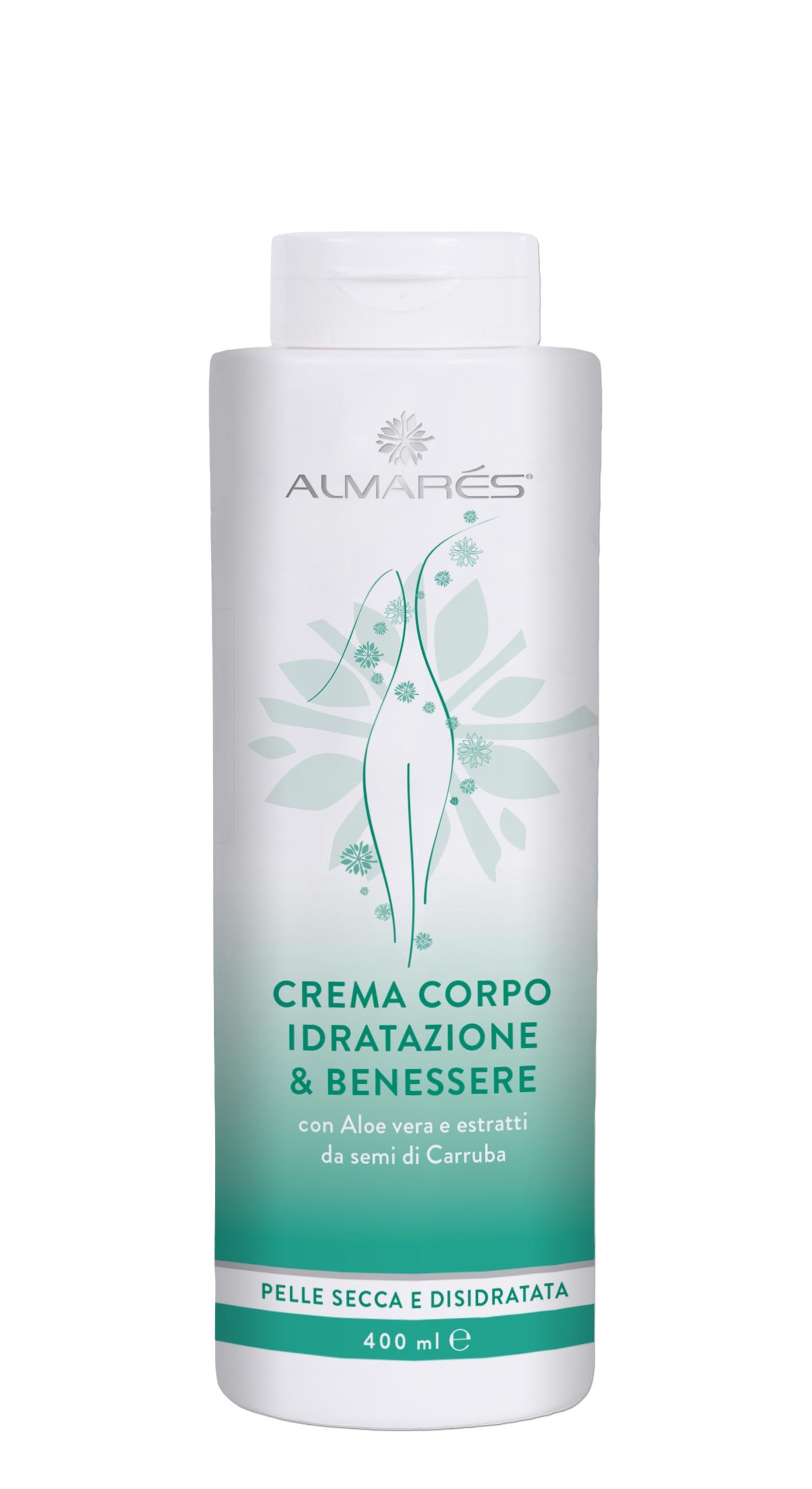Image of Almarés Crema Corpo Idratazione & Benessere 400 ml 8052439840285