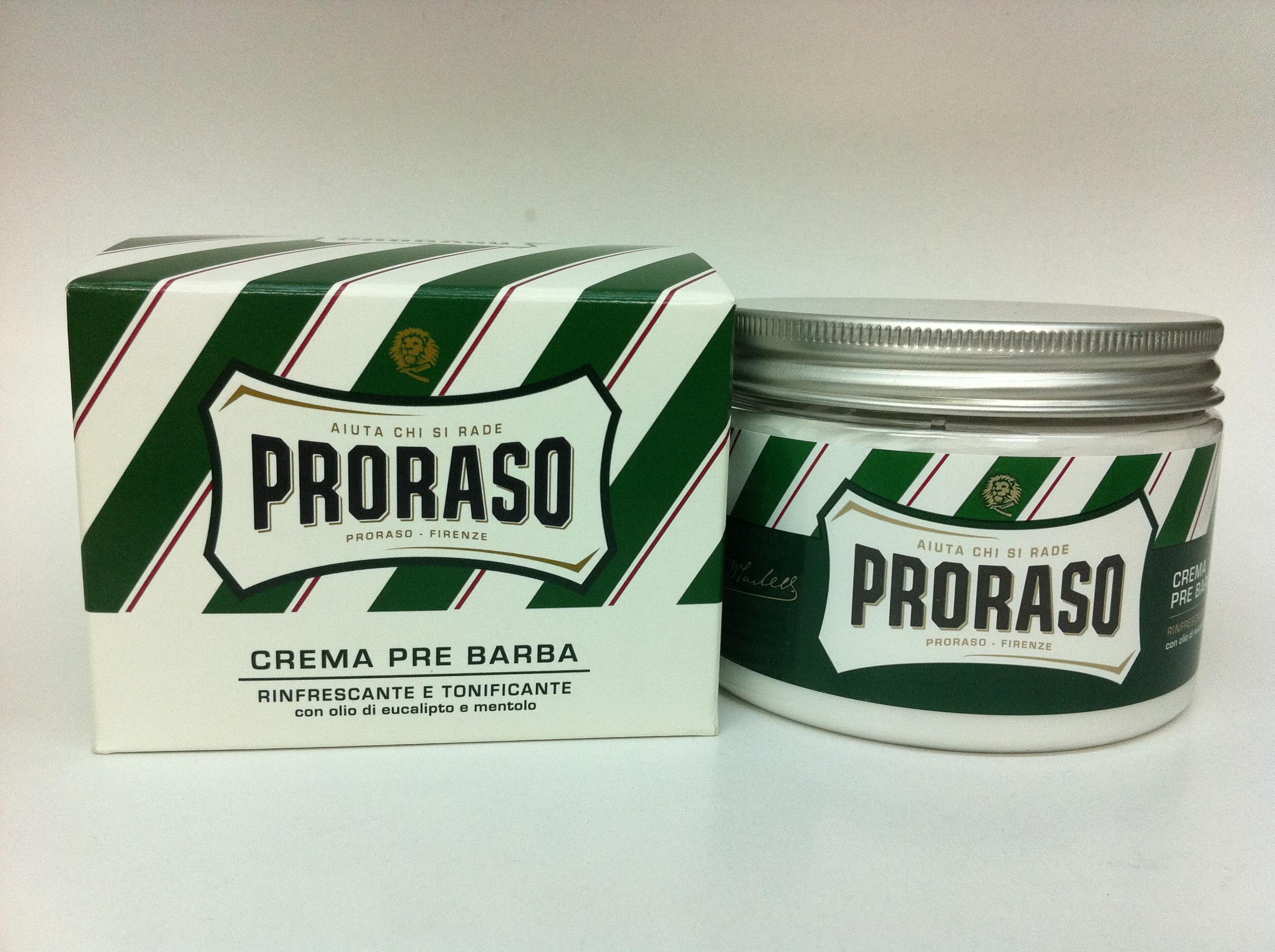 Image of Proraso Crema Pre Barba Rinfrescante E Tonificante All'Eucalipto 300 Ml 8004395001040