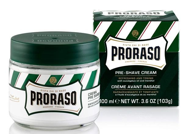 Image of Proraso Crema Pre Barba Rinfrescante E Tonificante All'Eucalipto Nuova Formula 100Ml 8004395001019
