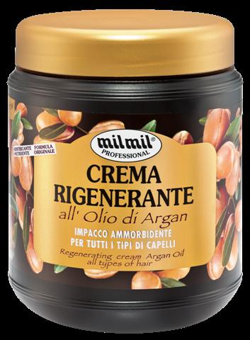 Image of Mil Mil Crema Rigenerante all'Olio di Argan 1000 ml 8004120905124
