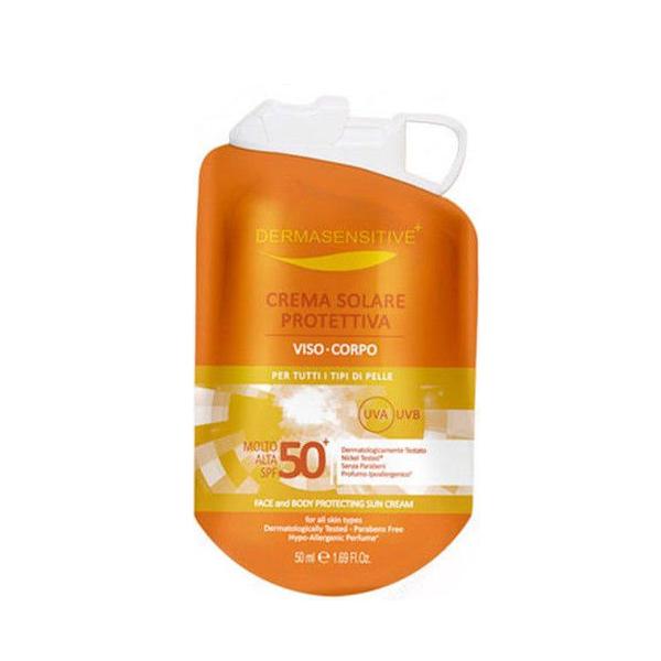 Image of Dermasensitive Crema Solare Protettiva Viso E Corpo Spf 50+ formato 50 ml 8029241123943