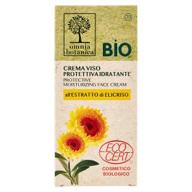 Image of Omnia Botanica Crema Viso Protettiva Idratante all'Estratto di Elicriso 50 ml 8050043990914
