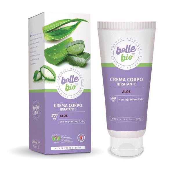 Image of Bolle Bio Crema corpo Idratante Aloe 200 ml 8032649453581