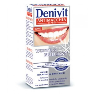 Image For Denivit Dentifricio Sbiancante Intensivo E Anti Macchia White & Brillant 20 Ml