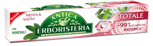 Image of Antica Erboristeria Dentifricio Totale Menta & Salvia, Con Minerali 75 Ml 8011319272080