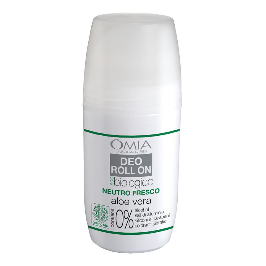 Image of Omia Deo Roll On Aloe Vera - Deodorante 50 ml 8021983811065