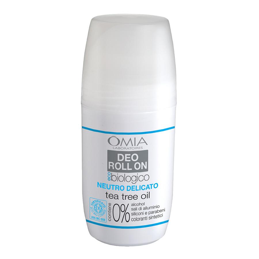 Image of Omia Deo Roll On Tea Tree Oil - Deodorante 50 ml 8021983811072