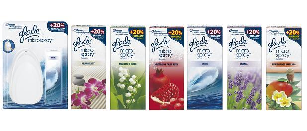 Image of Glade Deodorante Per Ambienti Microspray Profumazione Ambienti Fragranze Assortite 1 Ricarica 5000204651010