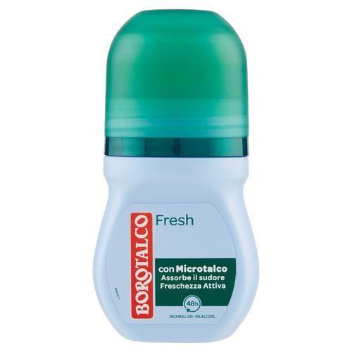 Image of Borotalco Deodorante fresh 0% alcool - Roll-on 50 ml 80763178