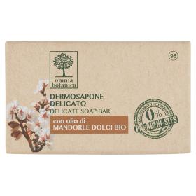 Image of Omnia Botanica Dermosapone Delicato con olio di Mandorle Dolci Bio 100 g 8051411538646