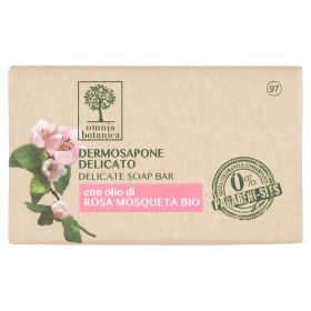 Image of Omnia Botanica Dermosapone Delicato con olio di Rosa Mosqueta Bio 100 g 8051411538639