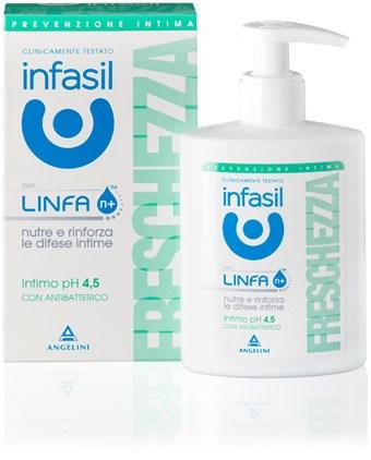 Image of Infasil Detergente Intimo Freschezza pH 4,5 200 ml 8000036014295