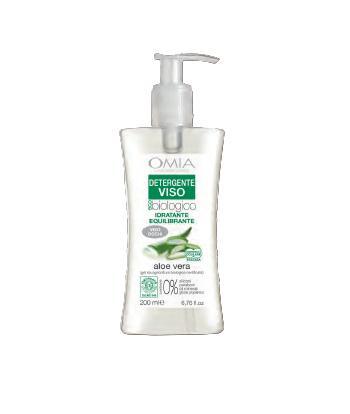 Image of Omia Detergente Viso Idratante Aloe Vera 200 ml 8021983810549