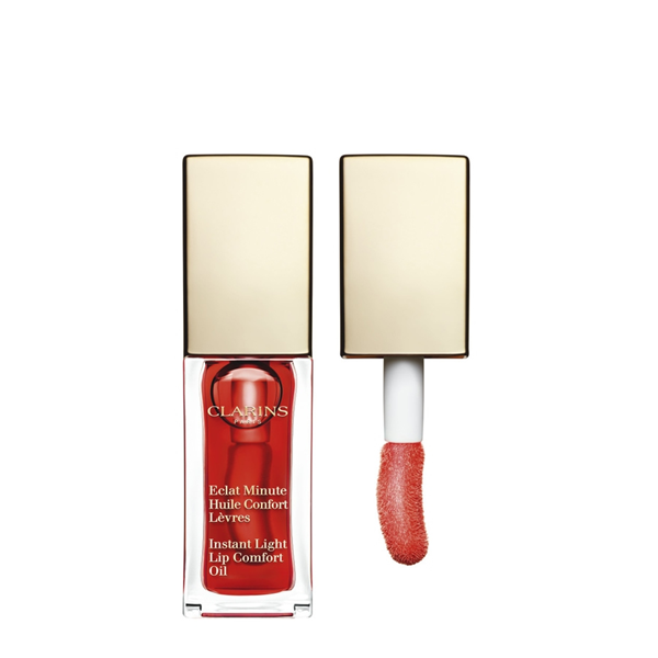 Image of Clarins Eclat Minute Huile Confort Levres - Gloss 03 Red Berry 3380810069624
