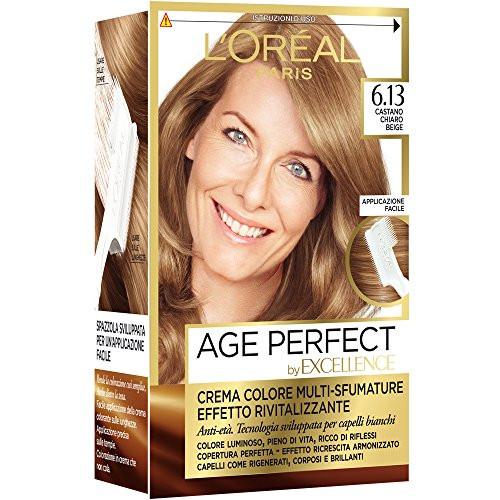 Excellence creme crema colorante 6.13 castano chiaro beige 26092a16c364