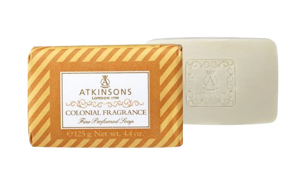 Image of Atkinsons Fine Perfumed Soaps Sapone Colonial Fragrance 125 gr 8000600003809