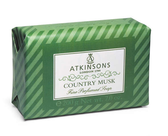 Image of Atkinsons Fine Perfumed Soaps Sapone Country Musk 200 gr 8000600000785