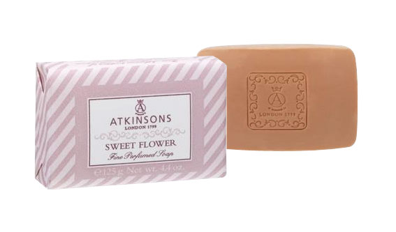 Image of Atkinsons Fine Perfumed Soaps Sapone Sweet Flower 125 gr 8000600002901