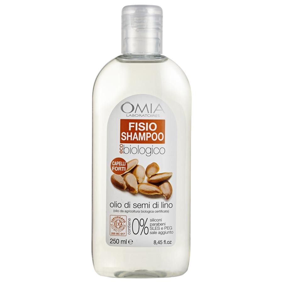 Image of Omia Fisio Shampoo Semi di Lino 250 ml 8021983810112