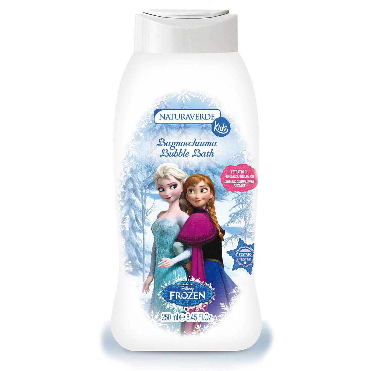 Image of Disney Frozen - Bagnoschiuma al profumo di Muschio Bianco 250 ml 8029241114422