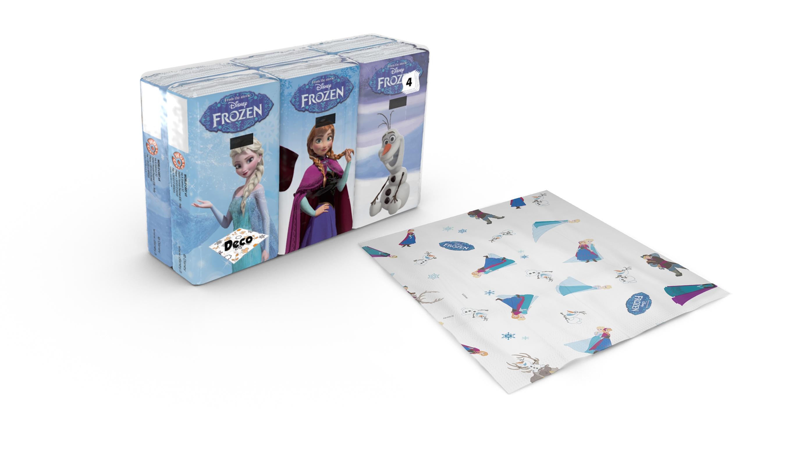 Image of Disney Frozen Fazzoletti 6 pacchetti 8033661567096