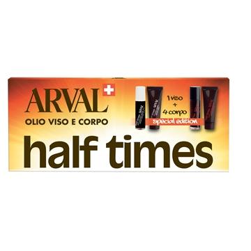 Image of Arval Half Times - Abbronzante Rapido Viso SPF8 1 pz 10 ml + Abbronzante Rapido SPF8 4 pz 10 ml + Fissante Rapido 5 pz 10 ml 8025935112064