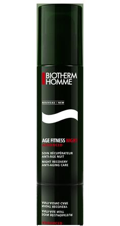 Image of Biotherm Homme Age Fitness Advanced Night - Crema Anti eta' Notte 50 ml 3605540892244