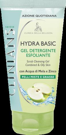 Image of Clinians Hydra Basic Gel Detergente Esfoliante 150 ml 8003510024643