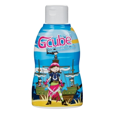 Image of Gcube Kids & Fun Daily Balsamo Girl - Balsamo Bambina 200 ml 8054181911015