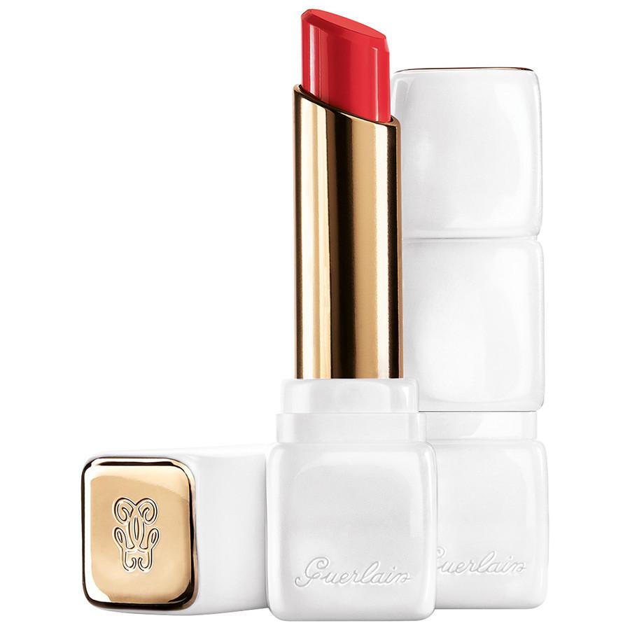 Image of Guerlain Kiss Kiss Rose Lip - Balsamo Labbra 346 Peach Party 3346470419902