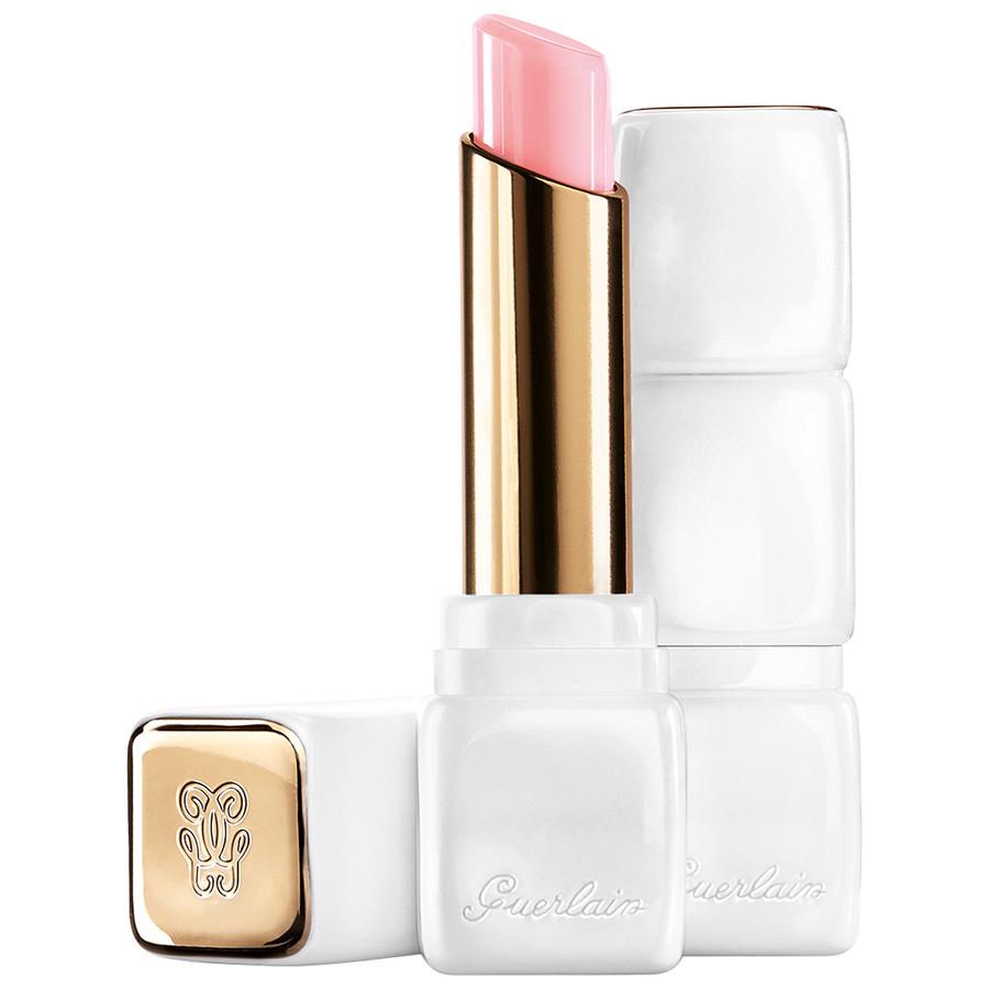 Image of Guerlain Kiss Kiss Rose Lip - Balsamo Labbra 371 Morning Rose 3346470419919